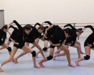 Répétition du spectacle Danse Etudes de l'ENDM 2019