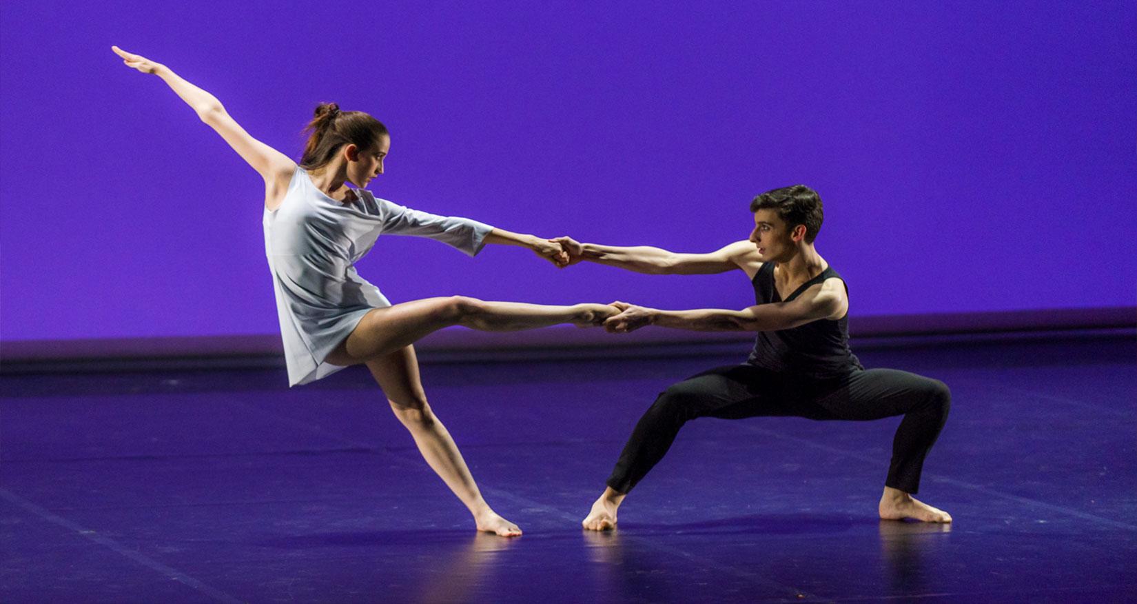 Photo spectacle 2018 des élèves de la formation danseur interprète cycle 2 danse-études diplômant