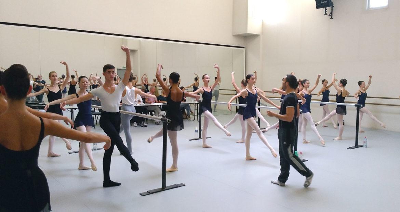 Audition cycles 3 et dnsp prépa pour la pièce Concerto de Julien Lestel