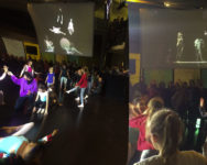 """Images de l'expo """"On danse ?"""" au MuCEM avec les élèves des classes CHAD de l'ENDM"""